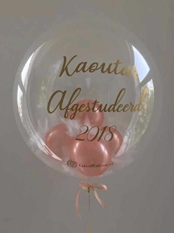 Afgestudeerd-ballon