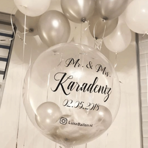 Ballon-met-letters