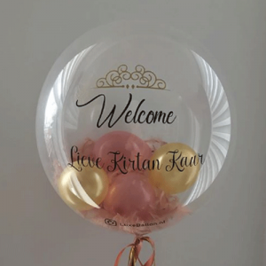 welcome lieve ballon